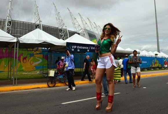 Bola.net: Suporter Ayu Piala Dunia 2014: Meksiko