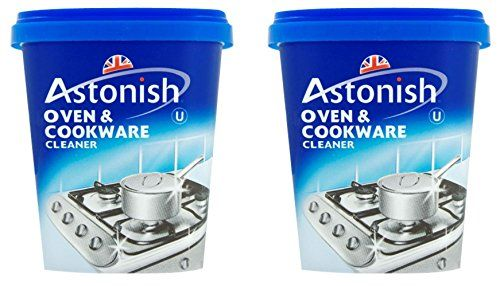 From 2.69 2 X Astonish Oven & Cookware Cleaner Cleaning Grease Remover 500 Grams