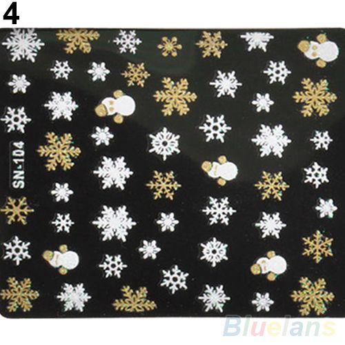 Fiocchi di neve Pupazzo di Neve 3D Nail Art Stickers Decalcomanie Ragazza Unghia Accessori 1T1E in fiocchi di neve Pupazzo di Neve 3D Nail Art Stickers Decalcomanie Ragazza Unghie Accessorinota: Si Prega di lasciare il da Adesivi e decalcomanie su AliExpress.com   Gruppo Alibaba