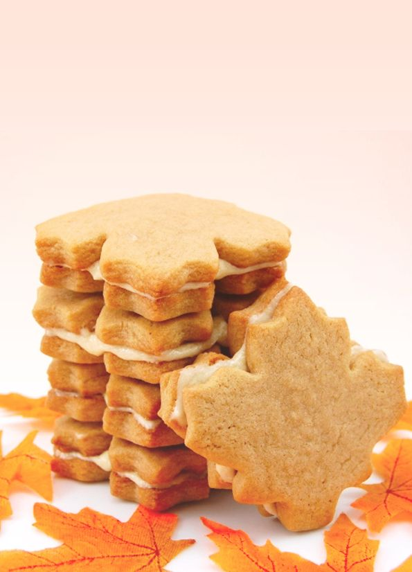 Homemade Maple Cream Cookies | 16 Irresistible Recipes That Will Satisfy Any Canadian