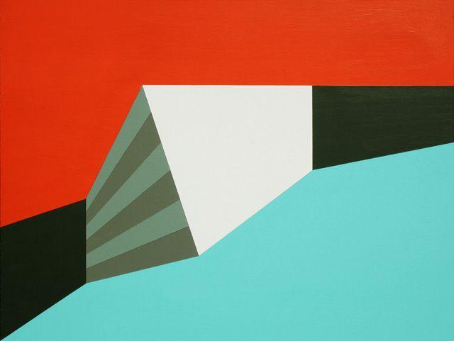 Hard-edge Painting #99 by Gary Andrew Clarke