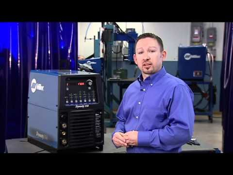 Miller Dynasty® and Maxstar® TIG Welder Set-up and Operation - YouTube
