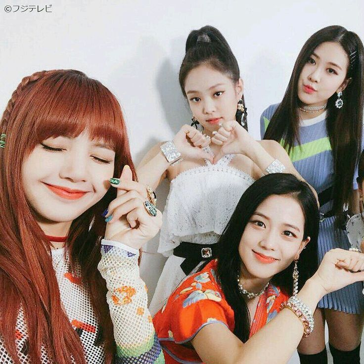 Black pink is so cutie cute