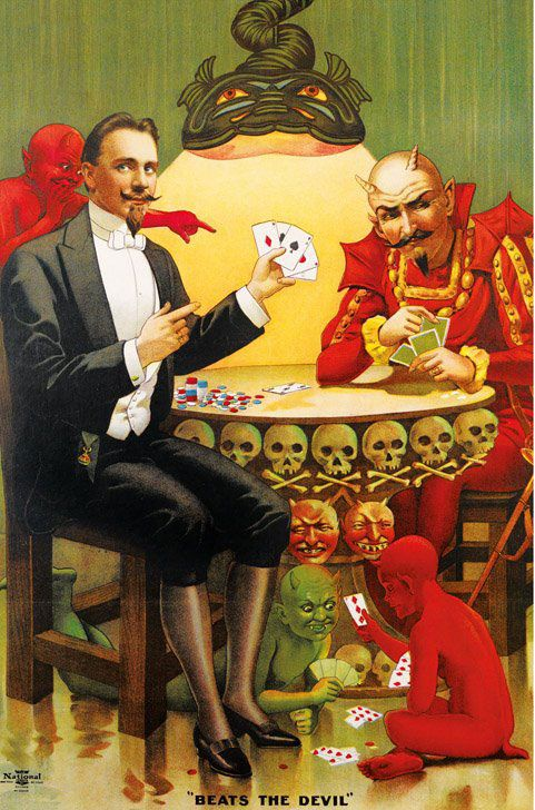 A Visual History of Magic | Brain Pickings... this is a beautiful coffee table book I've seen around LA. Large and full of gorgeous vintage poster art from old magic shows.