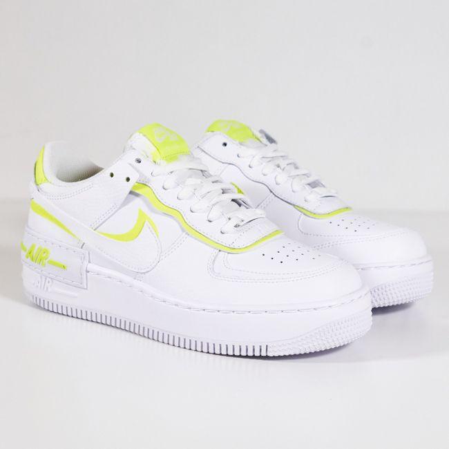 Air Force 1 Shadow White Lemon en 2020 | Chaussures air force one ...