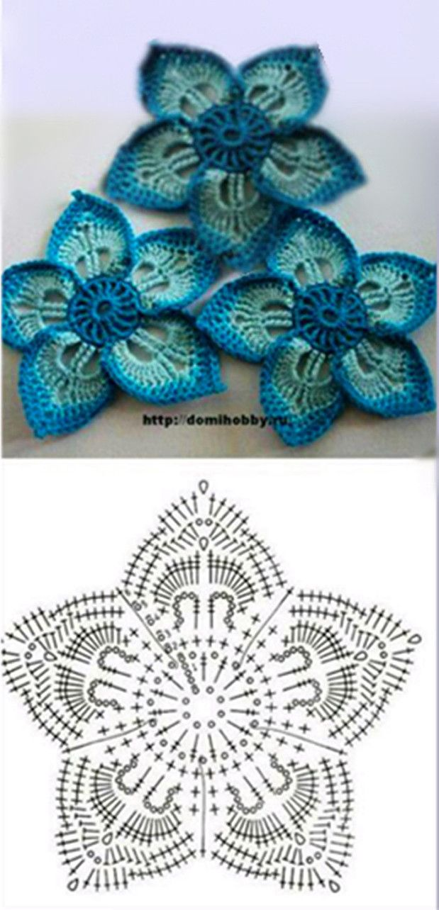 pretty flowers  #crochet
