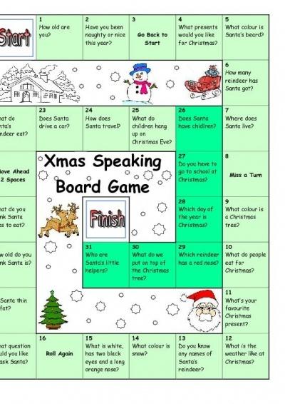 Board Game - Christmas