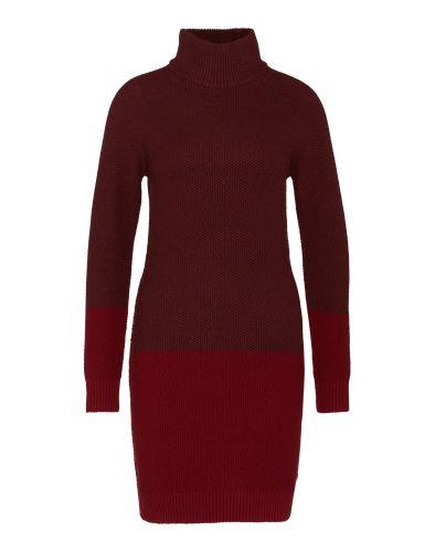Das Pullover-Kleid von EDC by Esprit kommt im zeitlosen Design mit Block-Muster und Stehkragen. Ein tolles Winter-Essentiel, das man super zu Boots und Strumpfhose kombinieren kann.