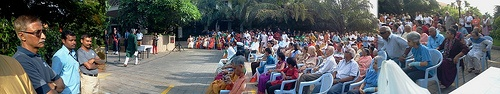 Panorama: Gathering for ID65 at Palm Meadows Club, Bangalore