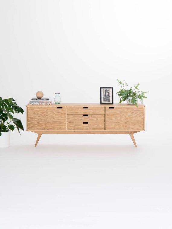 Mid Century Sideboard Modern Credenza Black Tv Stand Mid Century Sideboard Modern Furniture Living Room Retro Sideboard