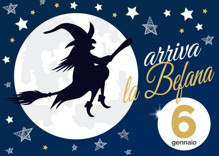 6 Gennaio 2018 A PRANZO o CENA in compagnia della BEFANA appuntamento dedicato a grandi e piccoli presso laTenuta BettozzaSasso Marconi (BO)