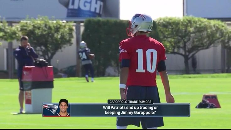 Tom Curran says the Patriots will only trade QB Jimmy Garoppolo if someone 'blows their door off' with an offer, and he believes their door is going t