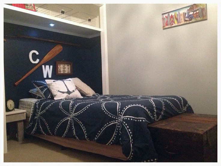 Coopey's Nautical Bedroom finished!!!