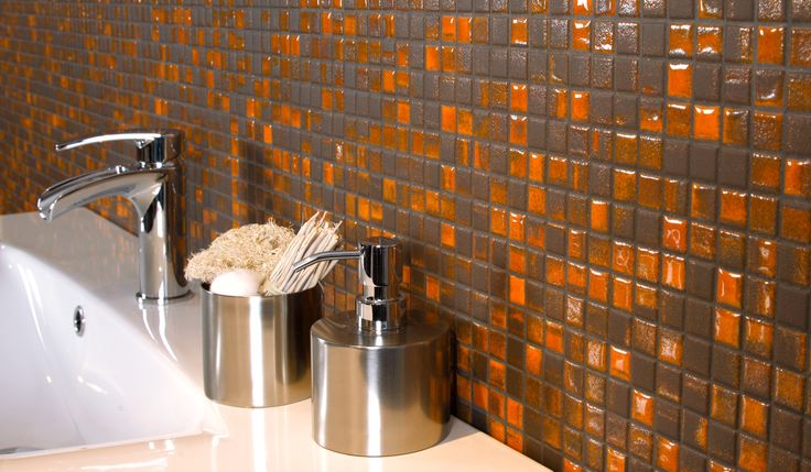 FUSION series _  porcelain stoneware mosaic tiles from  MOSAICS Collection  by KERION Ceramics