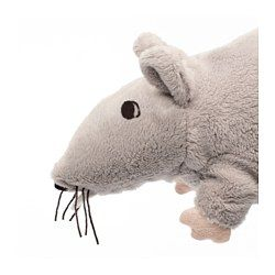 GOSIG RÅTTA Soft toy, assorted colors - - - IKEA