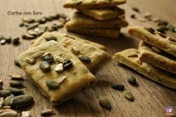 Ricetta crackers senza lievito