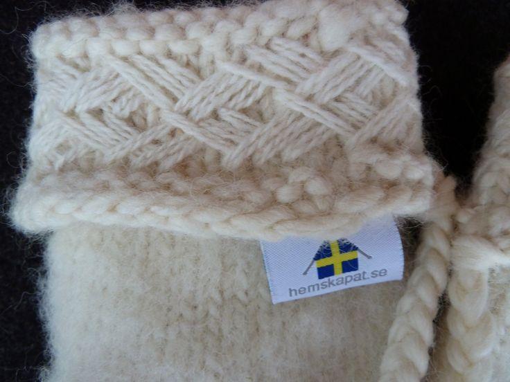 cuff on Lovikka mitten, by hemskapat.se