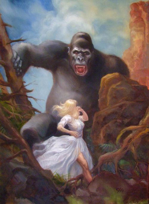 King Kong by Frank Cho