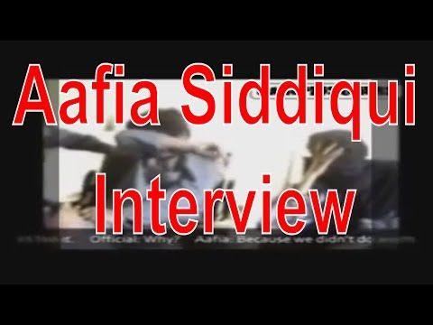 Aafia Siddiqui Interview