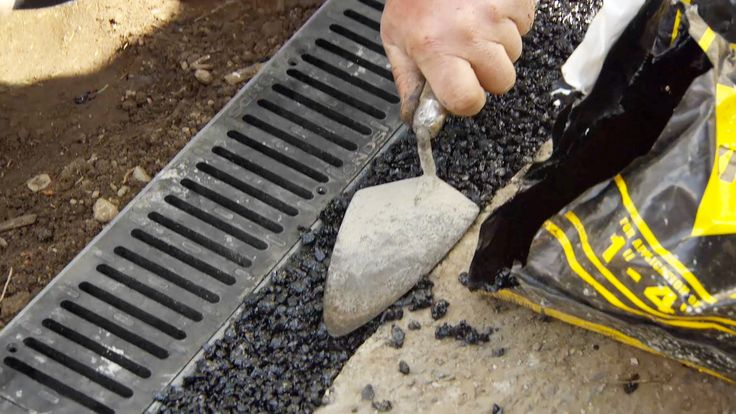 How To Install A Channel Drain Drainage Solutions