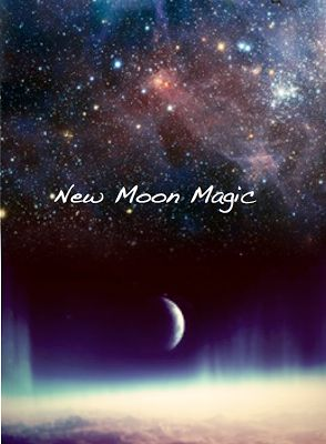 New Moon Magic: When the Moon is new, the Sun and Moon are aligned in the same sign, and a powerful energy portal is opened. New Moons are a great time to set intentions for things you'd like to create, develop, cultivate, make manifest ~
