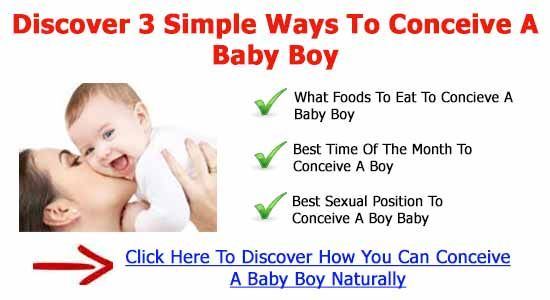 How to conceive a male baby