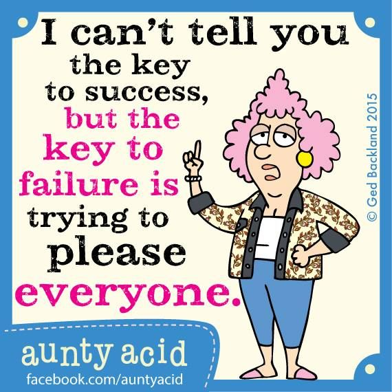 This is the most important lesson I learned in 2014, what was yours? #AuntyAcid #Quotes <3