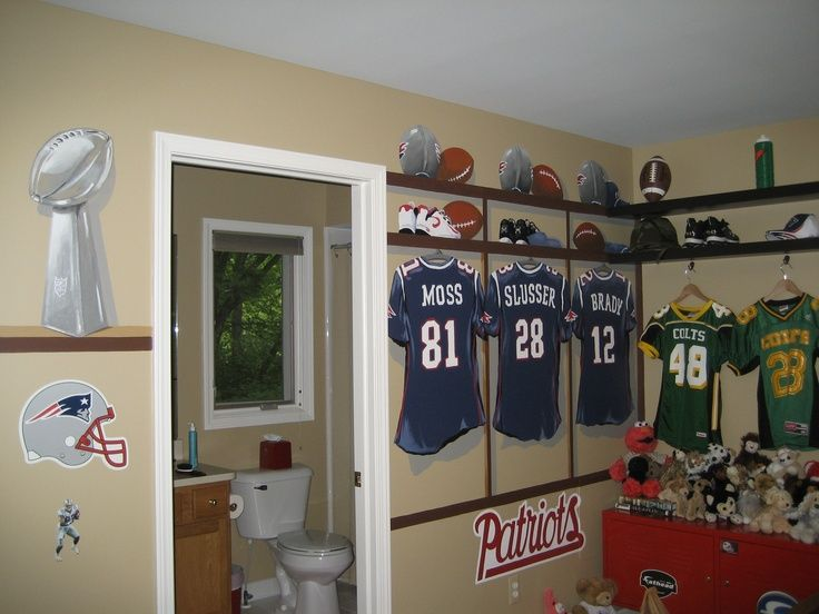 football themed bedrooms boys football theme for a boys room by janisse larssoncom