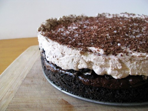 Triple layer chocolate pudding cake   Dessert!   Pinterest