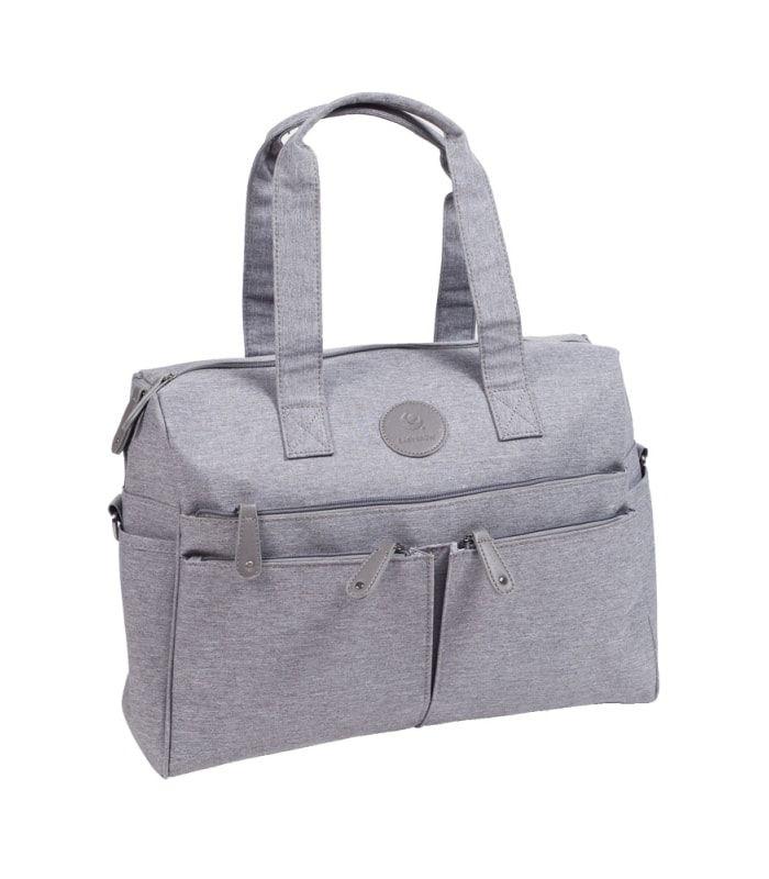 Easygrow Mama Bag DK Stelleveske Grå Smart stelleveske fra Easygrow medgod plass og et stilig design Stellevesken er romslig Slitesterke materialer Stellevesken har 6 utvendige lommer