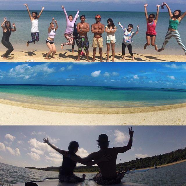 【kazuyayanagimoto】さんのInstagramをピンしています。 《綺麗な海で🏖 #yoga #ロータス8 #YOGINI #サングラス #オークリー #海#surf#sk8 #腕時計 #G_SHOCK #サップヨガ #小浜島 #asanamandala #peace #love 柳本和也》