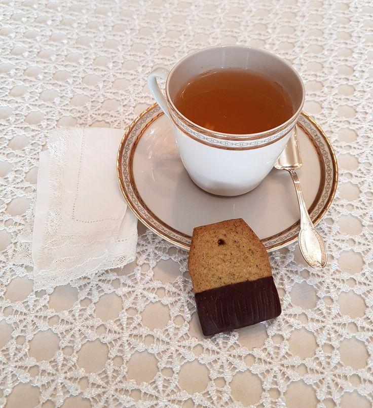 BISCOTTI AL TE' VERDE GELSOMINO E VANIGLIA Everton Tea