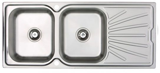 RUBUS 101BD Stainless Steel 1.0 Bowl Sink