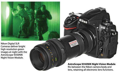AstroScope 9350NIK Night Vision Modules For Nikon Cameras