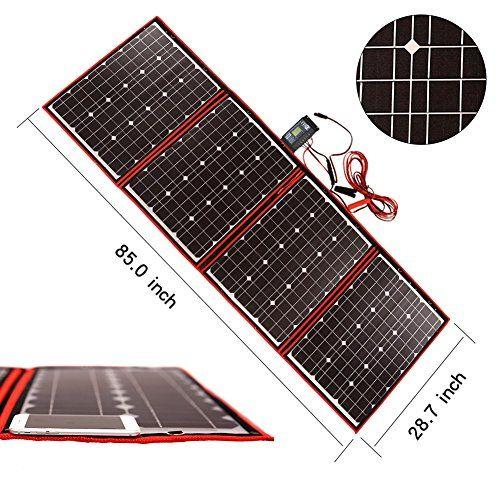 Dokio 200 Watts 12 Volts Monocrystalline Foldable Solar P Https Www Amazon Com Dp B075szmfp2 Ref Cm Sw R Pi Dp U X Yqe Solar Panels Solar Solar Panel Cost