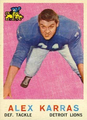 alex karras football card | 1959 Topps Alex Karras #103 Football Card
