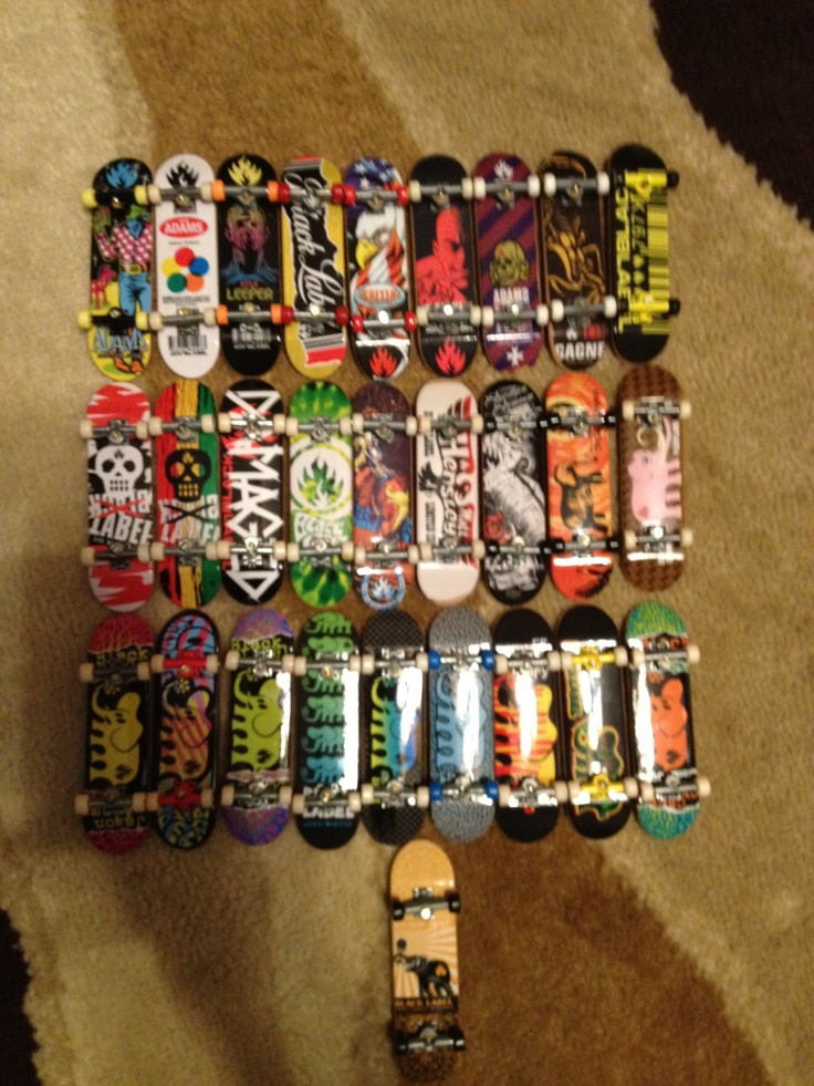 Tech deck collection