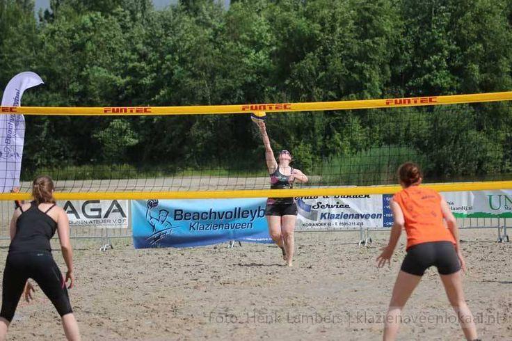 Organisatie Beachvolleybal Klazienaveen kijkt tevreden terug op geslaagd toernooi