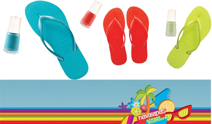 Free Mavala pedicure with Havaianas 'Slim' purchase - Londoners click through