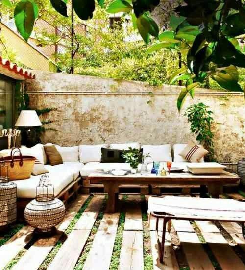 11 besten modern terrasse dekoration bilder auf pinterest. Black Bedroom Furniture Sets. Home Design Ideas