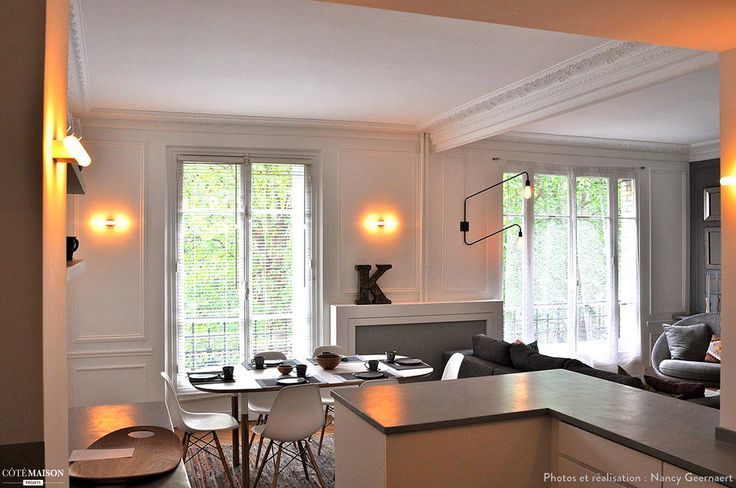 9 best Appt 90 m2 rénové Paris images on Pinterest Corner office
