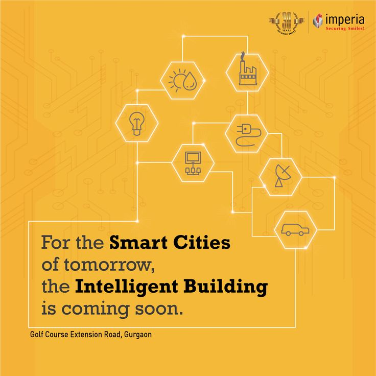 For the smart cities of tomorrow the intelligent building is Coming Soon #ImperiaStructures