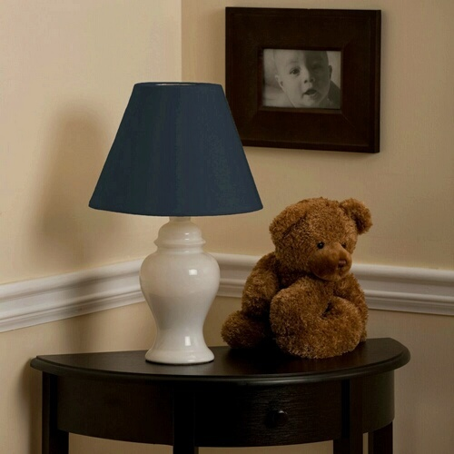 Navy Lamp Shade | Carousel Designs