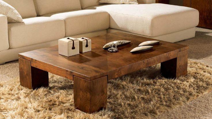 Contemporary wooden coffee table - EROS PROGRAMA - MOBIL FRESNO
