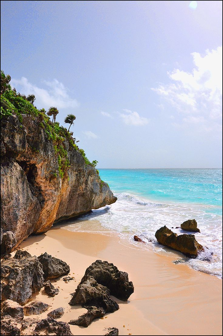 I have wanted to go to Tulum Beach in Mexico for a while now. It looks like a dreamy escape for #mystorybook