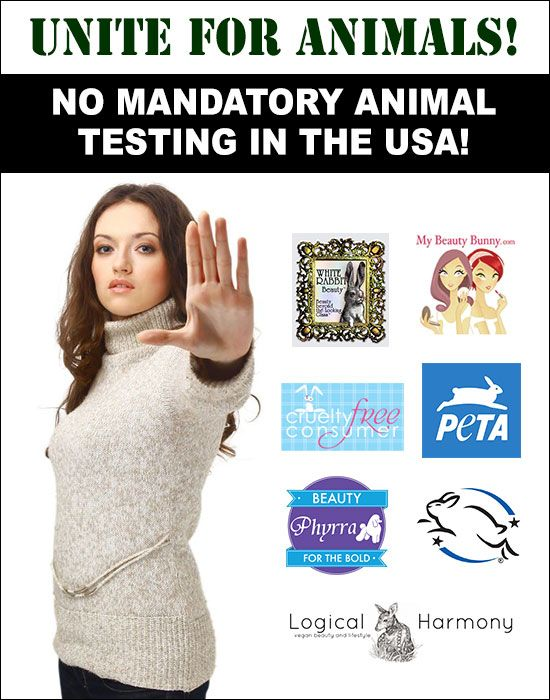 Animal Testing Mandatory in the US? This cannot happen. Please sign the petition and share!