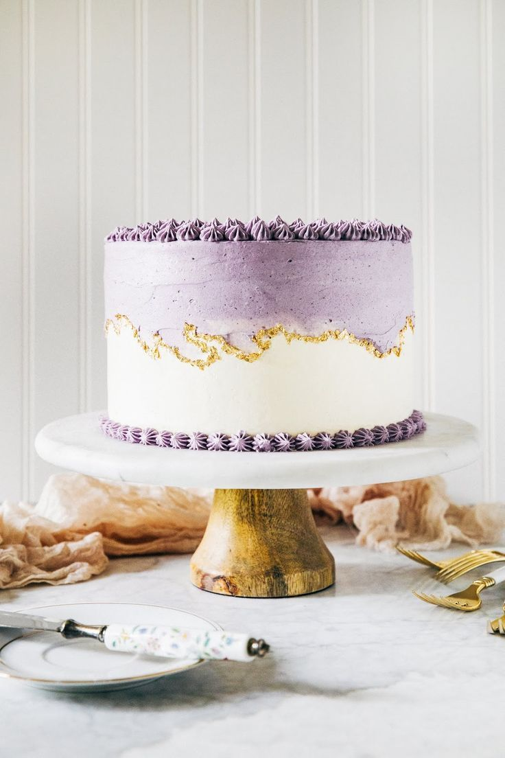 Ube Layer Cake Seven Years Of In 2019 Wedding Cakes