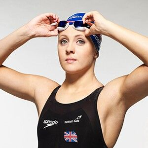Siobhan Marie O'connor. Born 1995. English Olympic silver medalist in the individual medley.
