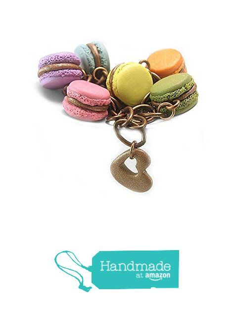 Colorful Macaron Bracelet ~ Food Jewelry from HugsKissesMINI http://www.amazon.com/dp/B015XSIJII/ref=hnd_sw_r_pi_dp_.qIjwb0PM5DP9 #handmadeatamazon