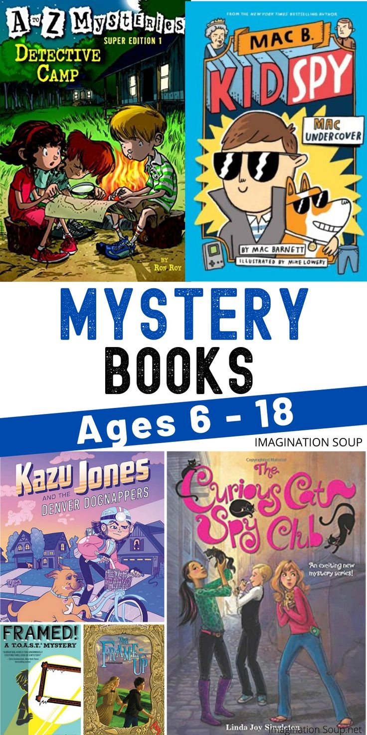 60 mystery chapter books for kids in 2020 kids chapter